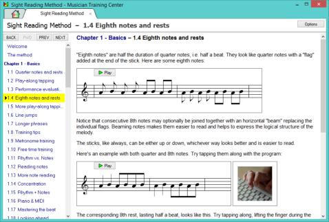 Sight Reading Trainer screenshot
